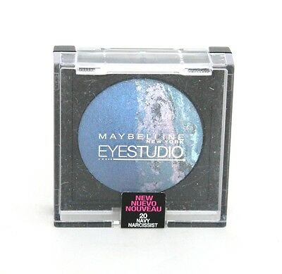 Maybelline Eyestudio Eyeshadow *Choose Your Shade* Blue Green Silver Pink Brown