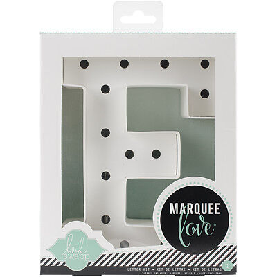 """Heidi Swapp Marquee Love Letters, Numbers & Shapes 8.5""""-E"""