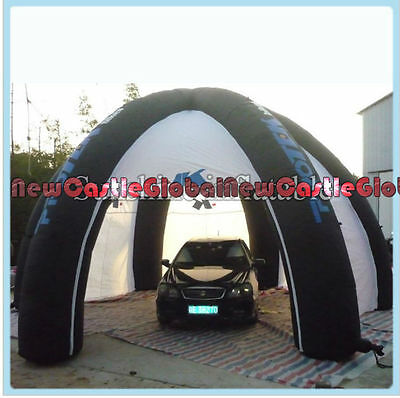 26ft Outdoor Inflatable portable Garage painting workstation shelter tent blower