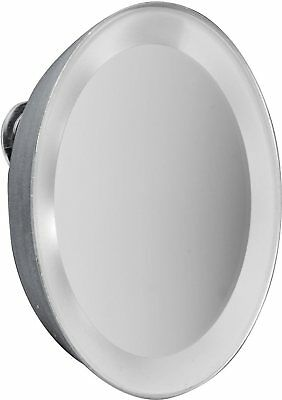 MACOM Specchio Luminoso a LED con ingrandimento 7x Diametro 10,8 cm - 225