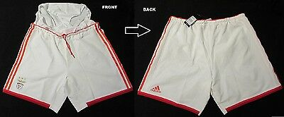 SL Benfica Lissabon Lisboa adidas Player Issue Spieler Home Hose/Shorts XL NEU