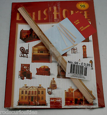 Del Prado Dolls House Step By Step #98 Attic Accessories