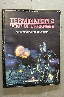 Terminator 2: Year of Darkness Miniatures Combat System USED Leading Edge Games