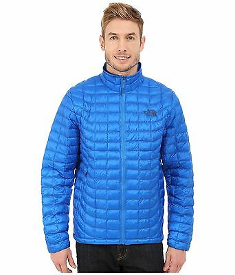 $199 NWT The North Face Men/'s Thermoball Full Zip Brilliant Blue Jacket Coat L
