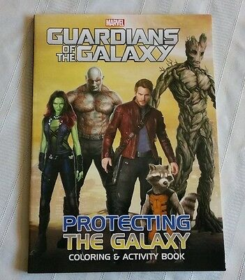 Set Of 2 Guardians Of The Galaxy Coloring & Activity Books