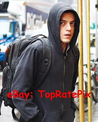 RAMI MALEK.. Mr. Robot Charmer  - 8x10 Photo  #3