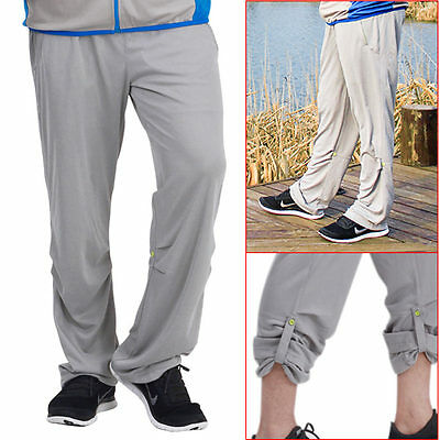 Cool Men's Outdoor Soft Quick Dry Pants UV Protective Fishing Sunscreen Trousers