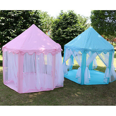 Two Colours option Children Pop Up Play Tent Princess Playhouse Wigwam Party