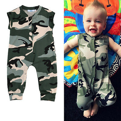 0-3Y Newborn Kids Baby Girl Boys Kids Bodysuit Romper Playsuit Clothes Outfits