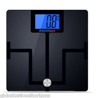180Kg Digital Electronic Glass Weighing Body Scales Bathroom Bluetooth Lose Fat