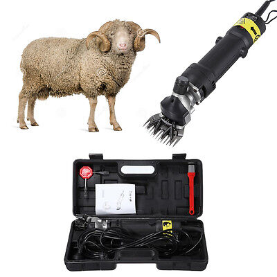 2400RPM Sheep & Goat Clipper Electric Shearing Machine with Blade UK Plug
