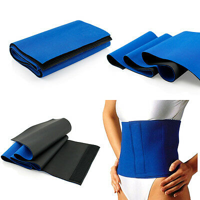 Waist Trimmer Exercise Wrap Belt Slimming Burn Fat Weight Loss Body Shaper Nice
