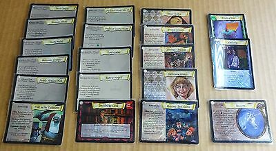 "Multi-List Selection Of Harry Potter Tcg  Base Set ""holo & Foil Rares"" 2001"