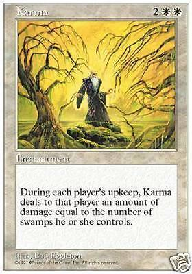 Karma MTG MAGIC 5E Eng