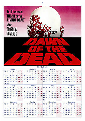 Dawn Of The Dead - 2017 A4 CALENDAR **BUY ANY 1 AND GET 1 FREE OFFER**