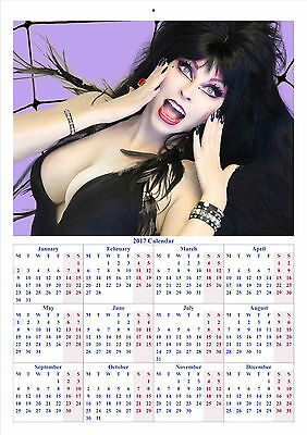 Elvira - 2017 A4 CALENDAR **BUY ANY 1 AND GET 1 FREE OFFER**
