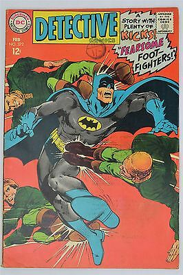 DC Detective Comics #372 February 1968 VG/FN Silver Age Batman Neil Adams