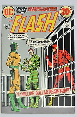 DC Comics The Flash #219 December/January 1972/73 FN/VFN Bronze Age Nick Cardy