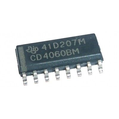 CD4060BM SMD Circuito integrato digitale 14-stage Binario Contatore