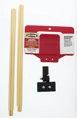 "Hyde Tools 28100 ProShield Cardboard Clip With 18"" Handle"