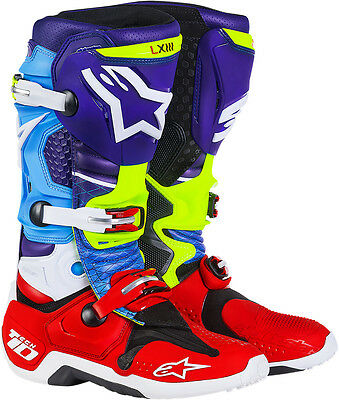 Alpinestars Mens Tech 10 Limited Edition Venom Offroad Motocross Boots