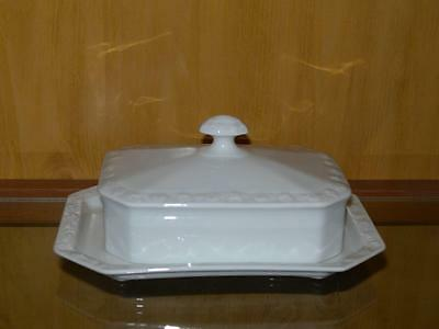 Rosenthal Maria White Covered Butter Dish