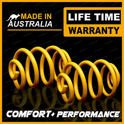 50MM Super Low Rear King Coil Springs HOLDEN COMMODORE UTE VU VY VZ V8 01-9/07