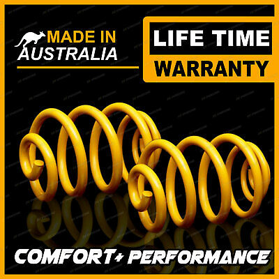 70MM Ultra Low Rear KING Coil Springs Fits FORD FALCON BA BF XR6 XR8 SEDAN 02-07