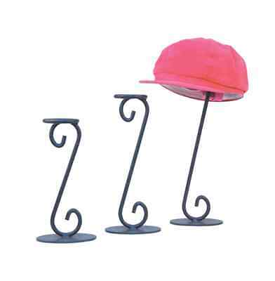 For Sale 3 AYS Retail Single Hat Counter Display Rack (Gray)