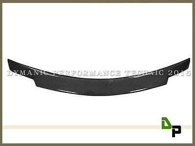 Carbon V Style Trunk Spoiler Lip For Merecedes-BENZ C204 C-Class Coupe 2012-2014