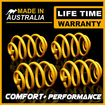 70MM Ultra Low Front + Rear KING Coil Springs HOLDEN COMMODORE UTE VZ V6 04-06