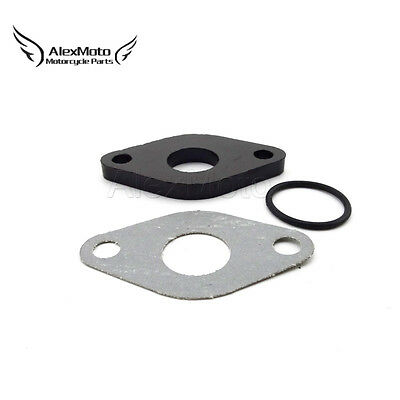 17mm Carburetor Carb Intake Gasket For GY6 50cc Moped Scooter Parts