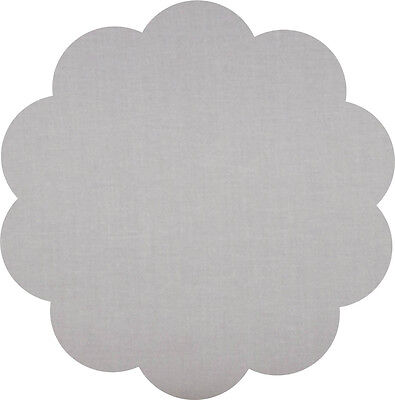 """Quilters Deluxe Solids -  5"""" Charm Squares - Pack Of 20 - Grey"""