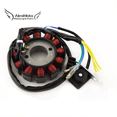 12 Coils Ignition Stator Magneto For GY6 125cc 150cc Moped Scooter