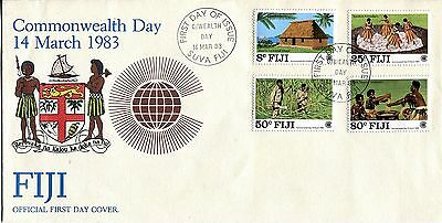 Fiji 1983 Commonwealth Day  FDC APS
