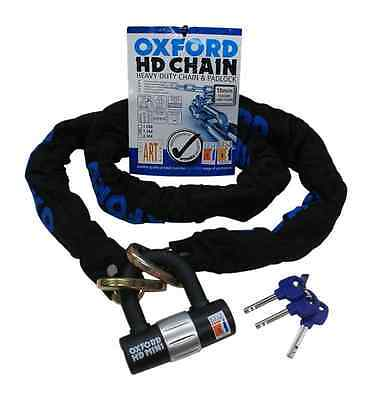 Oxford HD Heavy Duty Motorcycle Chain, Motorbike 1.5M Lock