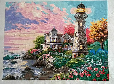LIGHTHOUSE - Finished completed Cross Stitch