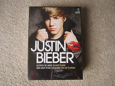 Canadian Group: Always Be Mine Justin Bieber Board Game - New in Sealed Box;