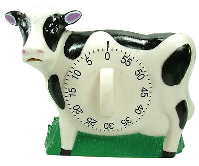 Eddingtons Cow Timer w/ Mooing Noise - Cow Countdown Timer - 60min