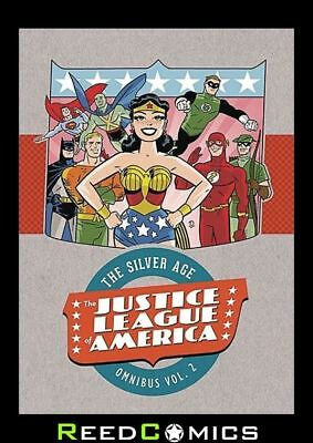 JUSTICE LEAGUE OF AMERICA VOLUME 2 OMNIBUS HARDCOVER New Hardback *1056 Pages*