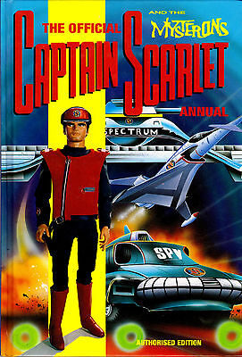 The Official Captain Scarlet and the Mysterons 1993 Annual Hardcover