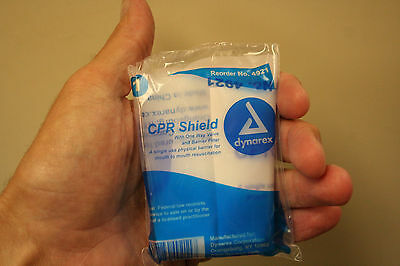 CPR Shield -One way valve and barrier filter for Mouth to Mouth - First Aid