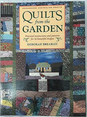 Quilts from the Garden book by Deborah Brearley - Quilting Sewing Craft