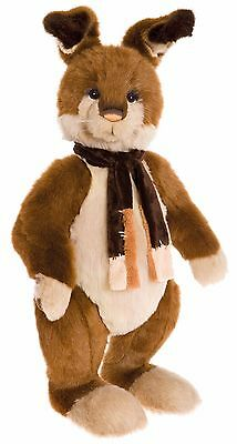 New **COLLECTABLE HANDMADE FULLY JOINTED CHARLIE BEAR ~ HOPKINS** 76cm