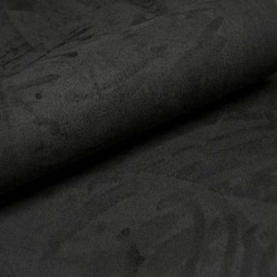 "Black Suedette 60"" wide Polyester Suede Dress Fabric 150cm wide sold the metre"