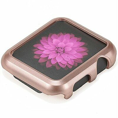 ROSE GOLD Cover Protector Sleeve Case Bumper Skin For 38MM APPLE WATCH iWatch 1
