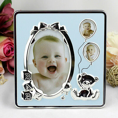 Baby Boy Photo Frame - Photo Collage | Newborn | Baby Shower | Keepsake
