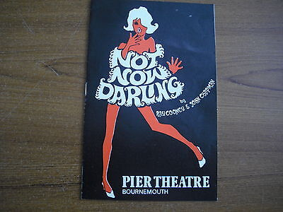 Pier Theatre, Bournemouth - Not Now Darling - 1970 - Pete Murray