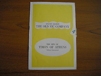 The Old Vic Theatre - The Life Of Timon Of Athens - 1956/57