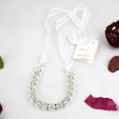 Crystal Horseshoe Wedding Good Luck Charm - Bridal, Wedding Accessories